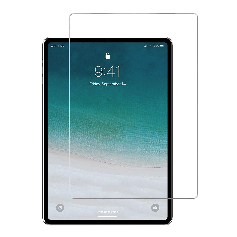 プレミアム強化ガラススクリーンプロテクター、クリアガラススクリーンプロテクター、Apple iPad Pro 11 (2018) / iPad Pro 12.9 III (2018)用 iPad Pro 11 ホワイト iPad Pro 11  B07KF197H3