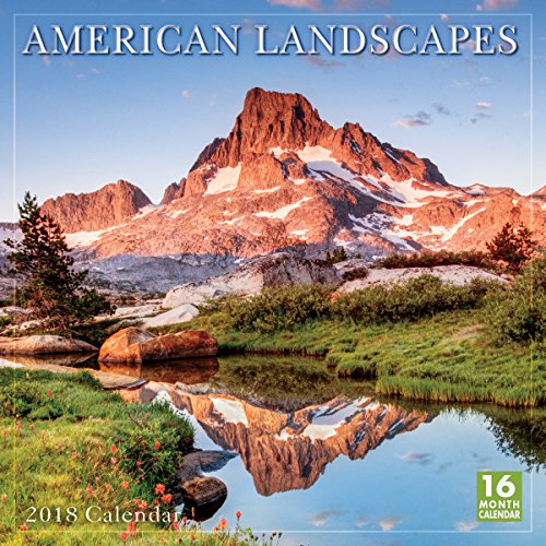 American Landscapes 2018 Wall Calendar (CA0103)