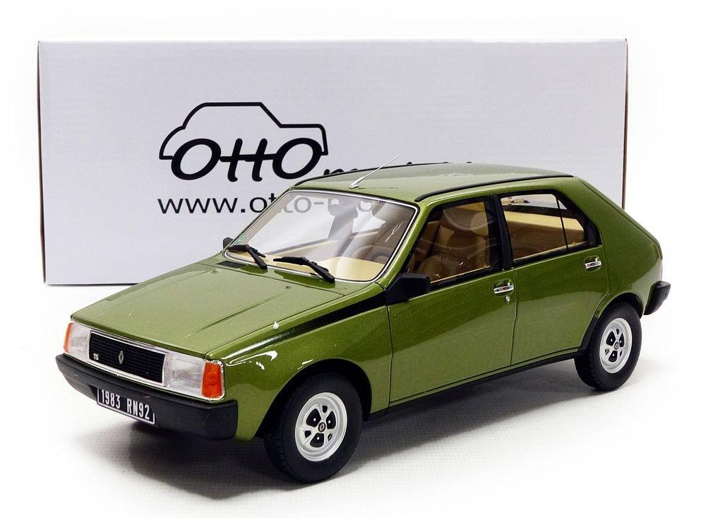 OT712 Vert métal Otto Mobile Miniature Voiture Renault 14 TS 1983 Echelle 1/18