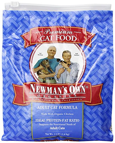 Newman's Own Organics Adult Healthy Cat Food, Organic 3 lb (Pack of 8) by Newman's Own