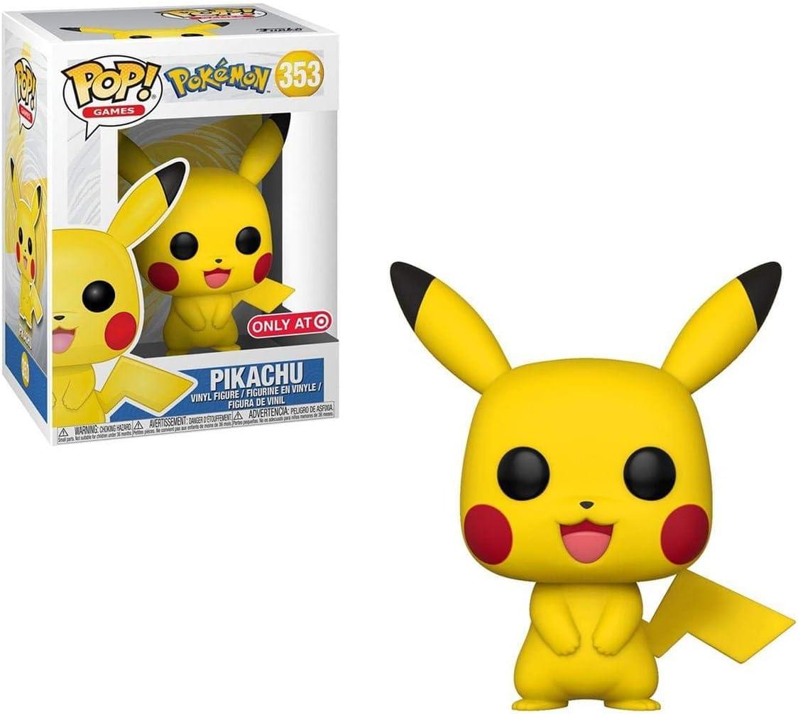 Amazon Com Funko Pop Games Pokemon Pikachu Exclusive Toys