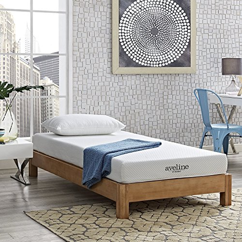 Modway Aveline 6 Gel Infused Memory Foam Twin Mattress With CertiPUR-US Certified Foam - 10-Year Warranty - Available In Multiple Sizes