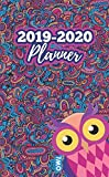 2019-2020 Planner Owl: Two Year Monthly Organizer Pocket Size Notebook