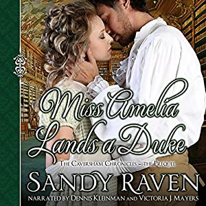 Miss Amelia Lands a Duke Audiobook