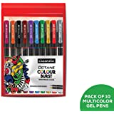 Classmate ITC Octane Colourburst Pen (Multicolour)- Pack of 10