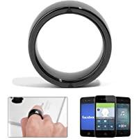 R4 Smart Ring Waterproof Dust-Proof Fall-Proof Smart Ring for iOS Android and Windows NFC Mobile Phone Multifunction Magic Finger Ring for iPhone Samsung XIAOMI HTC Huawei (Size 10)