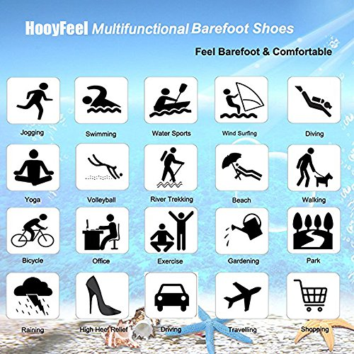 Coolloog Water Shoes Barefoot Quick Dry Aqua Socks Surf for Yoga Beach Swim for Men Women by Coolloog (Image #7)