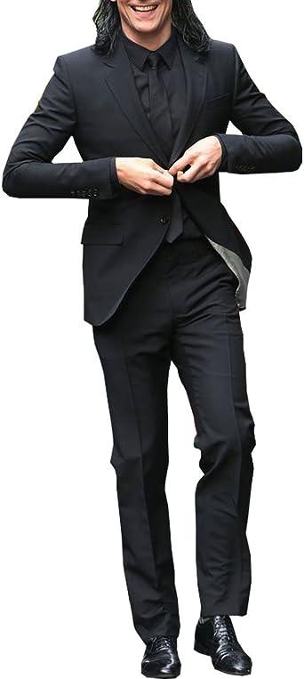 Red Smoke Tom Hiddleston Thor Ragnarok Loki Black Suit Amazon Co Uk Clothing