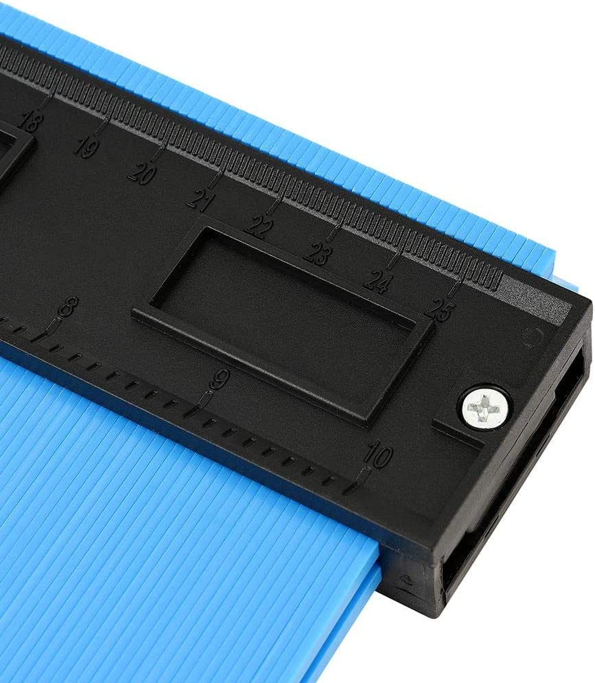 kioski Upgraded Widening 10 Inch Irregular Profile Gauge Copying Tool Contour Gauge Duplicator Contour Gauge Shape Duplicator