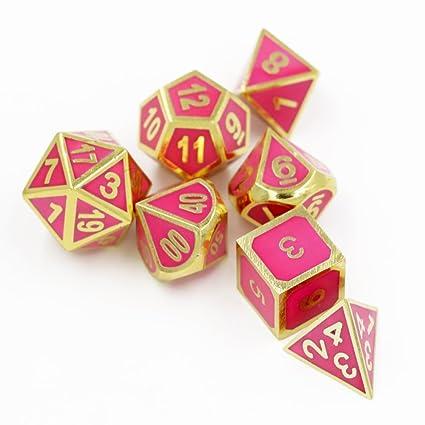 Amazon.com: Dungeons & Dragons 7pcs/set creativo RPG dados ...