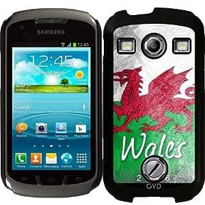 Funda para Samsung Galaxy Xcover 2 (S7110) - Gales Bandera by Julien Kaltnecker