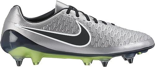 Nike Magista Opus SG PRO, Scarpe da Calcio Uomo, Argento