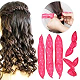 Best Rollers For Long Hairs - Pillow Hair Rollers No Heat, Night Sleep Foam Review