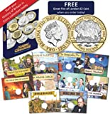 A History of Britain in Coins Collecting Kit with Album