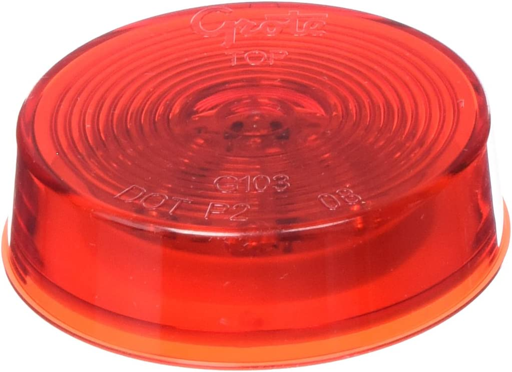 Optic Lens Grote G1032 Hi Count 2 1//2 LED Clearance Marker Light