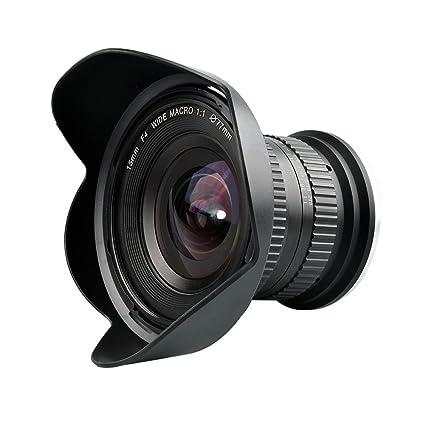 Amazon.com : Lightdow 15mm F/4 1:1 Macro + Wide Angle FF(Full-frame ...