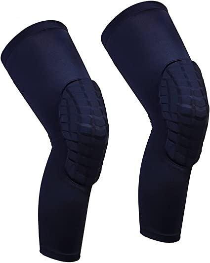 All Sizes 1 Support Padded Football Basketball Sports Run Knee Protector Brace