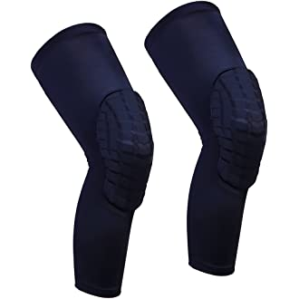 297e6c75aef08  6 Cantop Knee Sleeve Long Leg Sleeves Braces for Basketball and All  Contact Sports