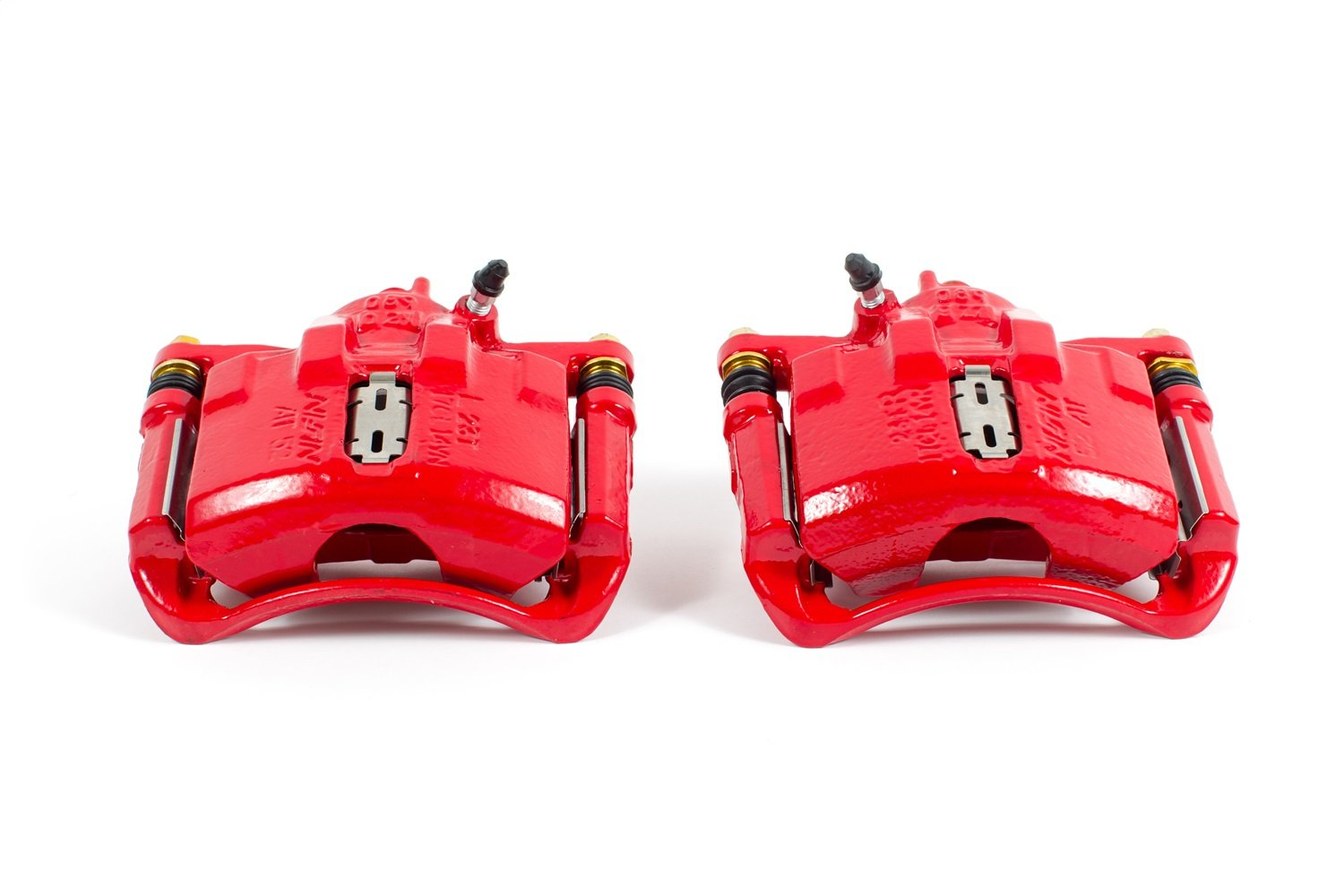 Power Stop S2876 Red Powder-Coated Performance Caliper