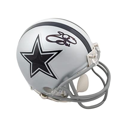9c7207dac Image Unavailable. Image not available for. Color  Emmitt Smith Autographed  Dallas Cowboys Mini Football Helmet ...