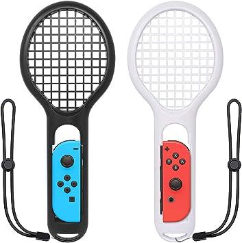 ZYBC Raqueta De Tenis para Nintendo Switch Joy-con Controller Mario Tennis Aces Accesorios para Juegos Paquete De 2 (03): Amazon.es: Deportes y aire libre