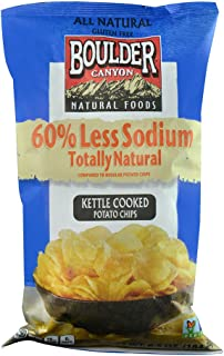 product image for Boulder Canyon Natural Foods Kettle Cooked Potato Chips -- 6.5 oz
