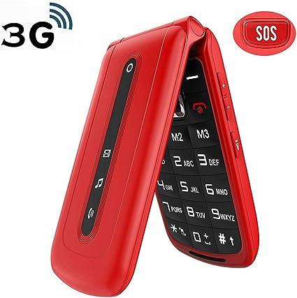 Amazon.com: Ushining - Teléfono móvil 3G con doble tarjeta ...