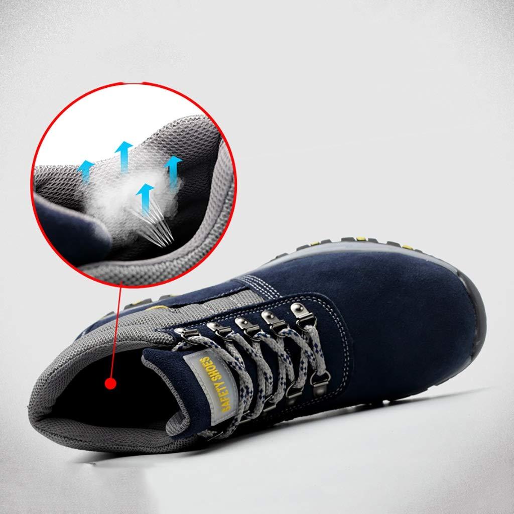 scarpe antinfortunistiche Le scarpe antinfortunistiche da uomo invernali e  i puntali in acciaio caldo freddo e caldo in velluto sono scarpe alte  stivali da ... e304007ab58