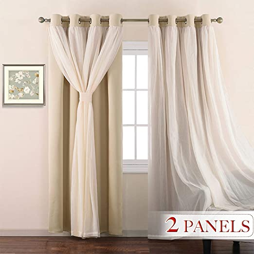 Set  of 4 Black Curtains Bracket for Home Door/&Window Free Shipping