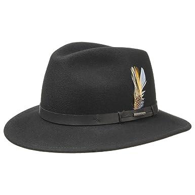 40d39ff51f0 Hopkins Traveller Hat Stetson men´s hat wool felt hat (XL 60-61 ...