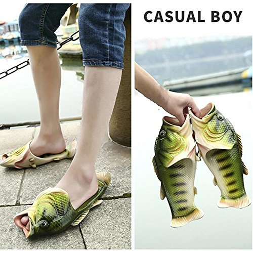 Casual gray Slippers Beach Non Women Colours Men BING Fish Shoes Shoe RUI Sandals CO Slippers Creative Slip Fish and 5 YnTwY4qHS