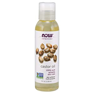 NOW Solutions, Castor Oil, 100% Pure Versatile Skin Care, Multi-Purpose Skin Softener, 4-Ounce