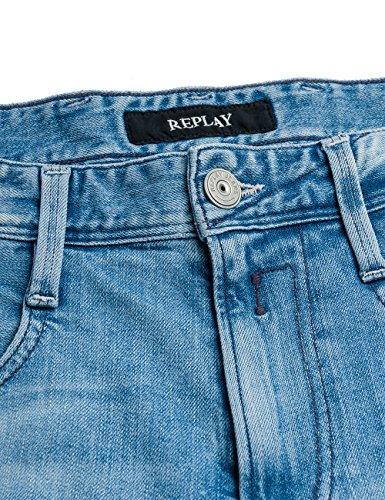 Blu Anbass Replay Uomo blue Denim Jeans xztazqwF