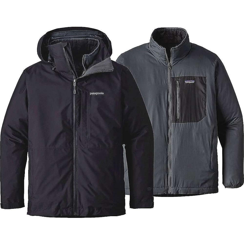 パタゴニア アウター ジャケットブルゾン Patagonia Men's 3-in-1 Snowshot Jacket Black 1zr [並行輸入品] B0761P2BZG