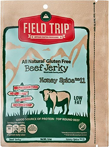 Field Trip Honey Spice No.11 Beef Jerky 1 Oz Pack of 12