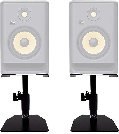 Gorilla gsm-50 altavoz de escritorio monitor de estudio Stands ...