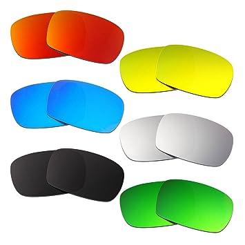 HKUCO Mens Replacement Lenses For lrR0k0rxrK Crankcase Black/24K Gold Sunglasses O3IzzFg0HM