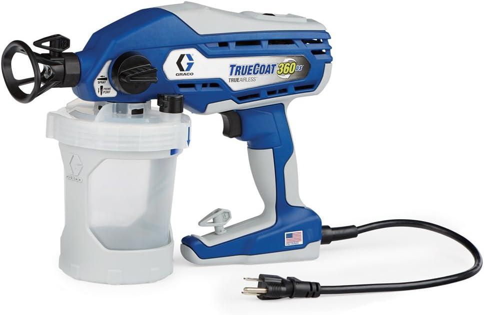 Graco 17A466 TrueCoat 360 DS Paint Sprayer – Best for Adjustabilit