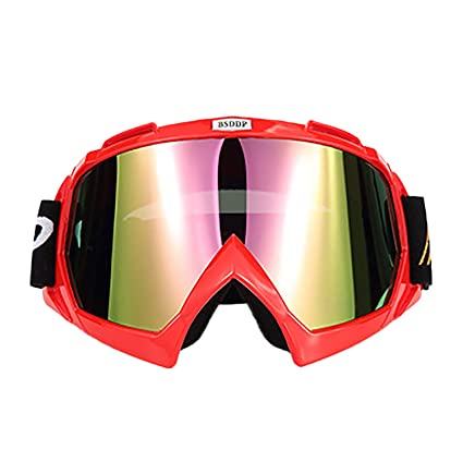 68c15a4687 June Sports Motorcycle Goggles Motocross MX Racing Goggle Dirtbike Off Road  Safety Glasses for Men Women Youth Kids Cycling Motorbike Goggles Skiing  Winter ...