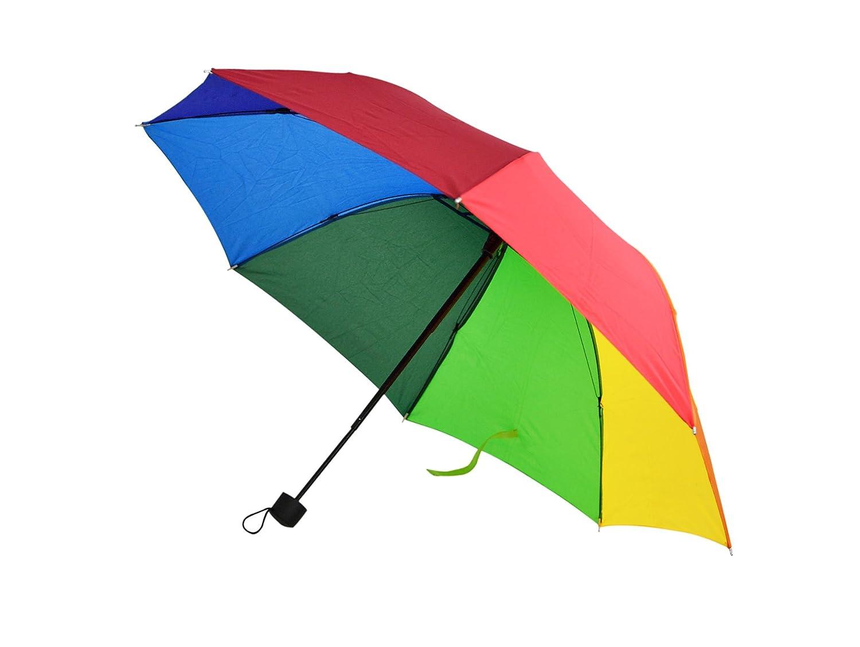 レインボー傘、旅行傘、折りたたみ傘 – by home-x   B07666KJNX