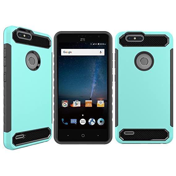 brand new 5f0ca 49aa1 Amazon.com: ZTE Z982 Case,ZTE Blade Z Max Case,Ucc Impact Hybrid ...