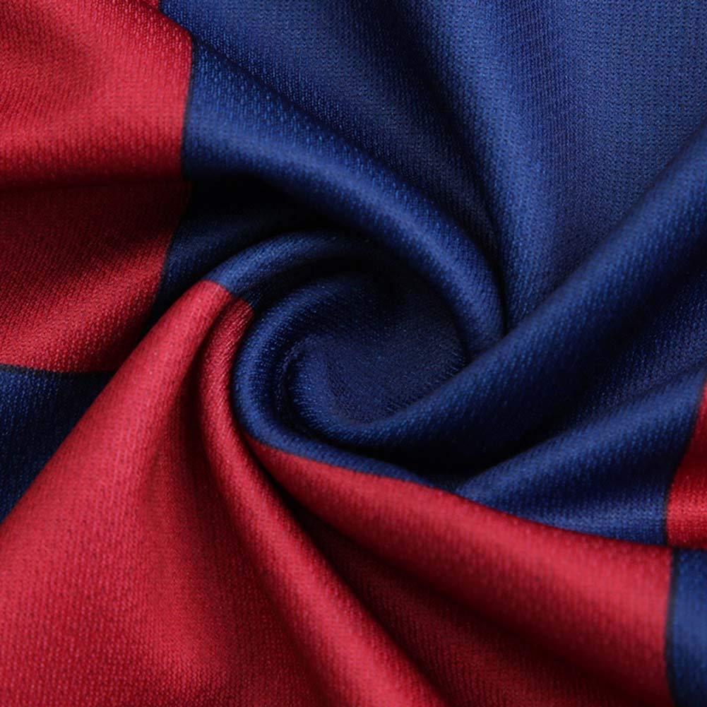 COOLBOY 2019-20 Bambino Uomo Adulto Maglia Calcio Messi 10# Soccer T-Shirt Pantaloncini E Calze A Maniche Corte