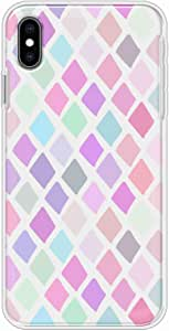 Okteq Clear TPU Protection and Hybrid Rigid Clear Back Cover Case Compatible with Apple Iphone XS MAX - pinks By Okteq