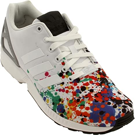 adidas originals ZX Flux men's white