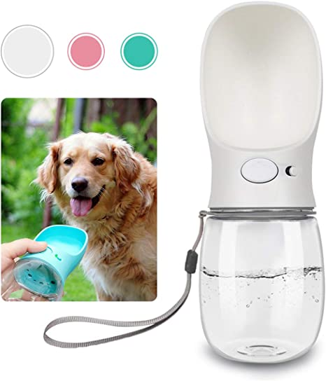 QQPETS Dog Water Bottle for Walking