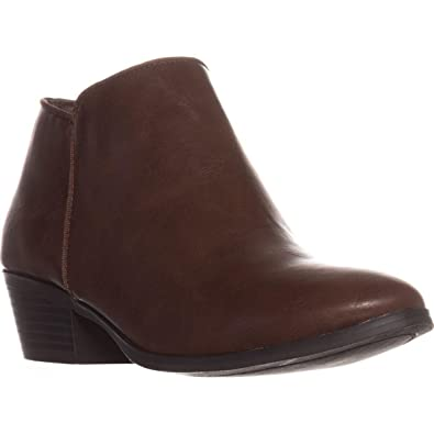 Style & Co. Co. & Damenschuhe Wileyy Ankle Booties (Cognac, 8W 54ae86