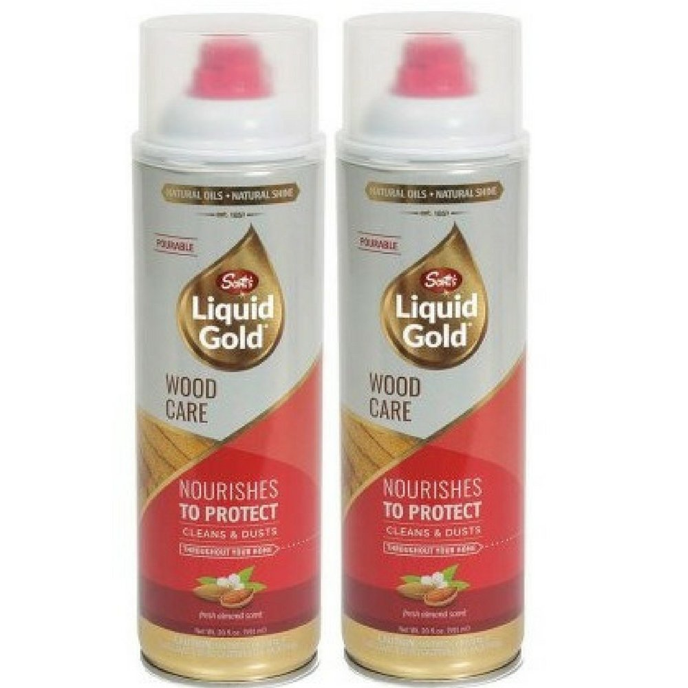 Scott's Liquid Gold Pourable Wood Cleaner & Preservative, 20 oz (2)