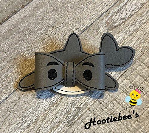 3D Shark Vinyl Hair Bow