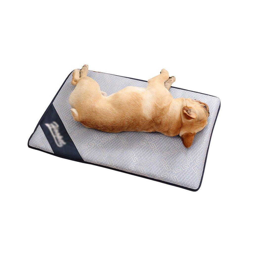 69cm50cm2cm Summer Dog Mat Pet Mat Pet Sleeping Pad Pet Waterloo Cool Down Kennel (Size   69cm50cm2cm)