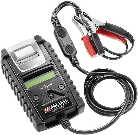 Numérique 12 V-Batterie-et recharge Testeur Avec Intégré Imprimante